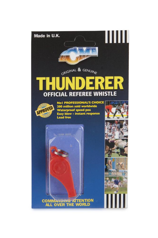 Acme Thunderer 660 Red Whistle