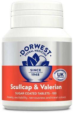 Dorwest - Scullcap & Valerian - 100 Tablets