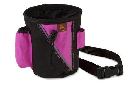 Firedog Treat bag small black/pink