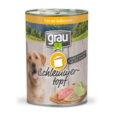 Grau Turkey with whole grain rice 400 g