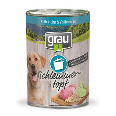 Grau Veal, chicken & whole grain rice 400 g