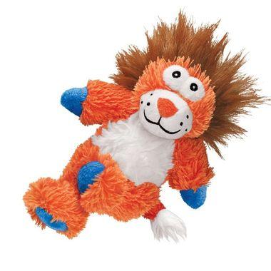 Kong Cross Knots Lion M/L plush dog toy