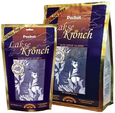 Kronch Lakse Pocket salmon treat 600 g