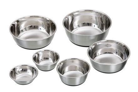 Non-slip Steinless steel bowl SELECTA 350 ml/13 cm