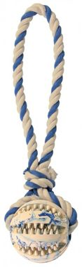 Trixie Denta Fun Playing Rope with Ball 7 cm / 24 cm