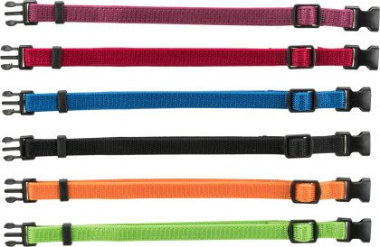 Trixie Set of Puppy Collars  22-35 cm/10 mm (6 pcs)