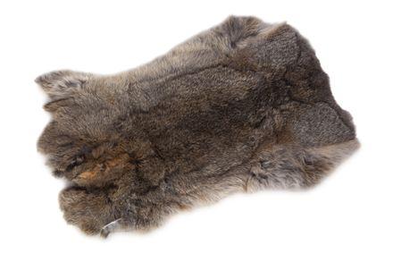 Rabbit skin 1 pc.